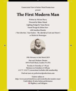 The First Modern Man