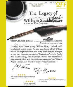 The Legacy of William Ireland